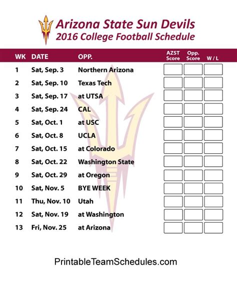 1000+ images about PAC 12 Football Schedule 2016 on ...
