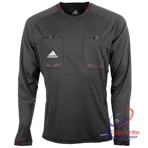 adidas Mens Long Sleeved Climacool Formotion Referee ...