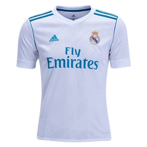 adidas Real Madrid Youth Home Soccer Jersey 2017 2018 ...