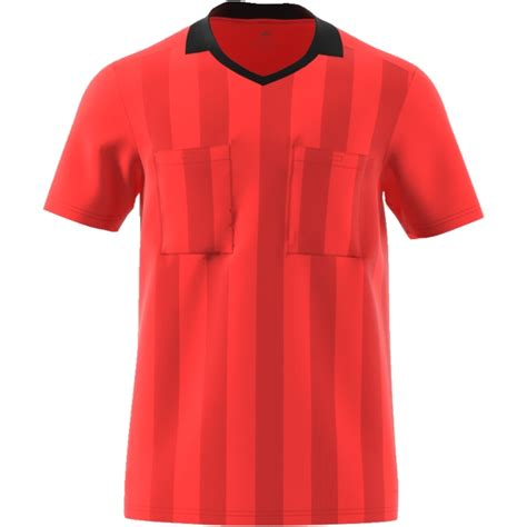 adidas Referee Jersey 2018 bright red bright red ...