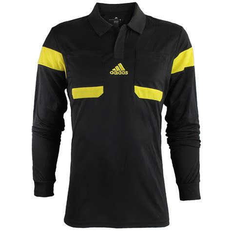 Adidas UCL Referee Jersey men s soccer long sleeved top ...
