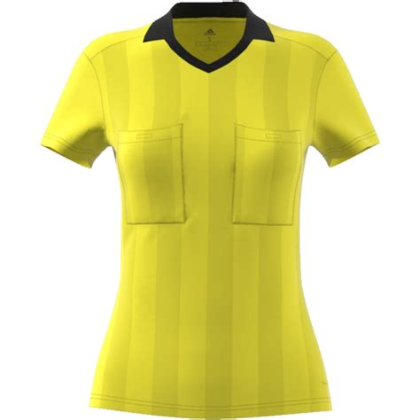 adidas women s referee jersey 2018 shock yellow shock ...