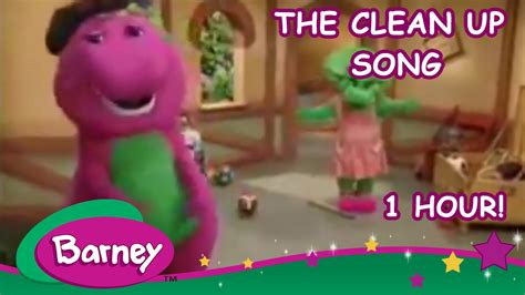 Barney   The Clean Up Song  1 hour    YouTube