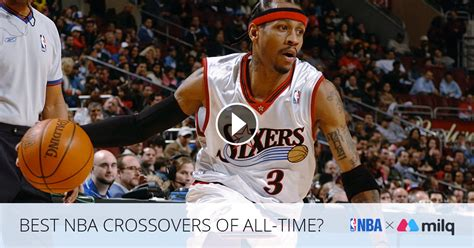 BEST NBA CROSSOVERS OF ALL TIME? | Milq Playlist