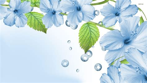 Blue Flowers Wallpapers   Wallpaper Cave