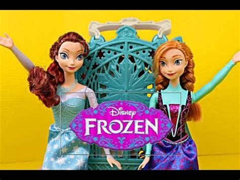 Brunette Disney Frozen Elsa and Anna Toy Review of the ...