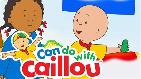 Caillou Can Clean Up   Cartoon for Kids   Doovi