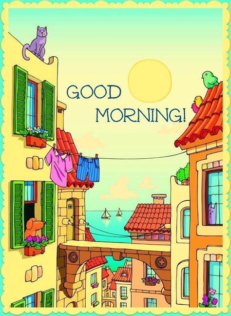 Cartoon Good Morning Pictures, Photos, and Images for ...