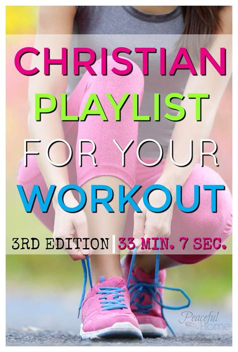Christian Playlist for Your Workout   Peaceful Home