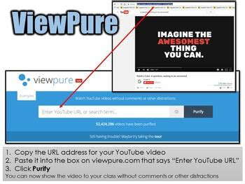 Classroom Freebies: ViewPure   Show YouTube Videos Without ...