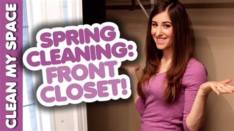 Clean & Organize your Front Hall Closet: Spring Cleaning ...