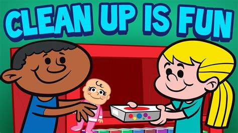 Clean Up is Fun   Children s Cleaning Song   Kids Songs by ...