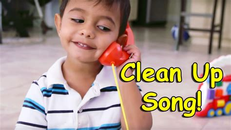 Clean Up Song for Children | Pick Up and Put it Away ...