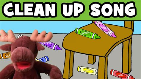 Clean Up Song for Kids   YouTube