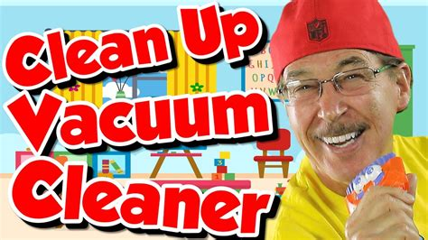 Clean Up Vacuum Cleaner | Clean Up Song for Kids | Jack ...