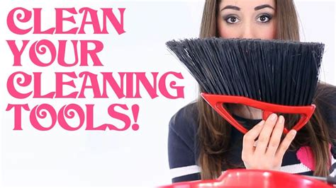 Clean Your Cleaning Tools!  Clean My Space    YouTube