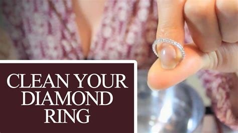 Clean Your Diamond Ring! Jewelry Cleaning Ideas That Save ...