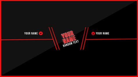 Clean Youtube Banner Template! Free Download   YouTube