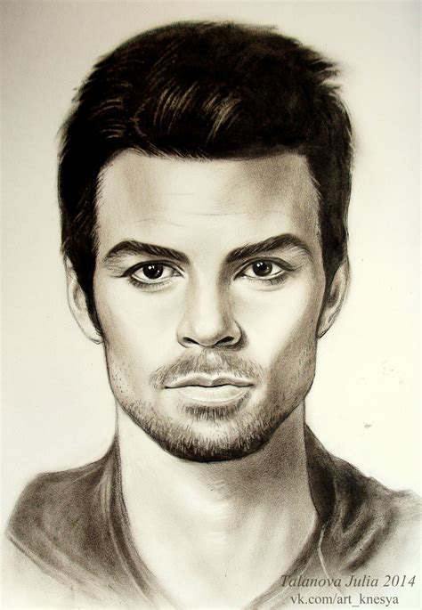 Daniel Gillies The Vampire Diaries by Knesya27 on DeviantArt