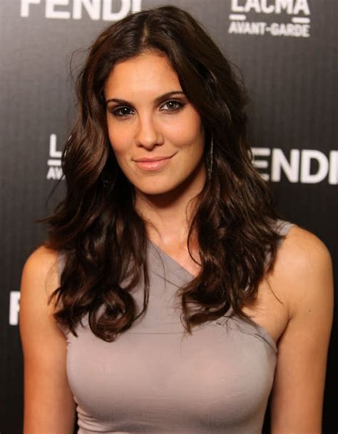 Daniela Ruah at FENDI Boutique Opening in LA   Sexy Leg Cross