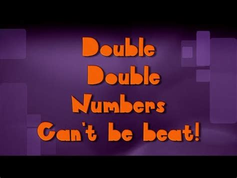 Double Number Song  adding doubles 1 10  / ViewPure
