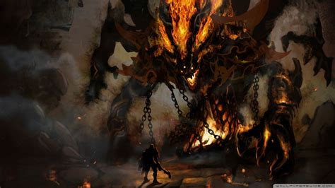 Download Fire Demon Wallpaper 1920x1080 | Wallpoper #449563