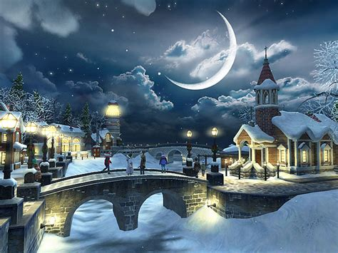 Download Snow Village 3D Screensaver Free Trial ...