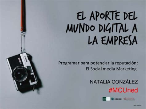 El Social Media MArketing en la Master Class  El aporte ...