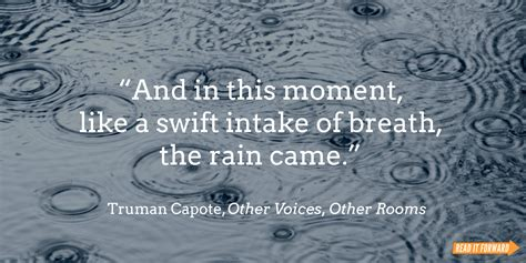 Famous Literary Quotes About Rain | Read It Forward