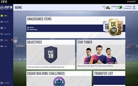 FIFA 18 Web App NOW LIVE: FUT Ultimate Team Early Access ...