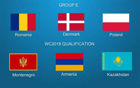 FIFA World Cup 2018 Qualifiers Group E European Zone PROMO ...