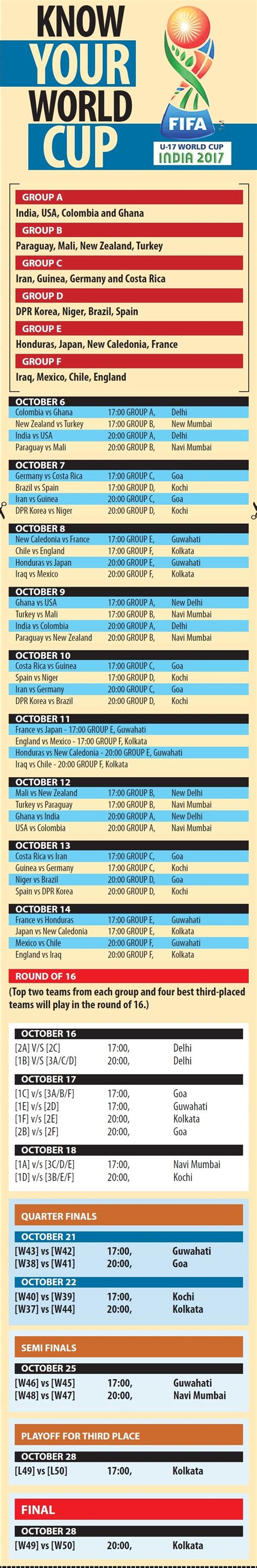 Fifa World Cup 2018 Schedule Ist   Best Image Of ...