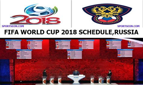 FIFA World Cup 2018 Schedule Venue & Time table 64match ...
