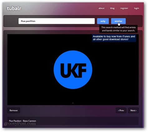 Find YouTube Music Videos in a Clean Interface with Tublar