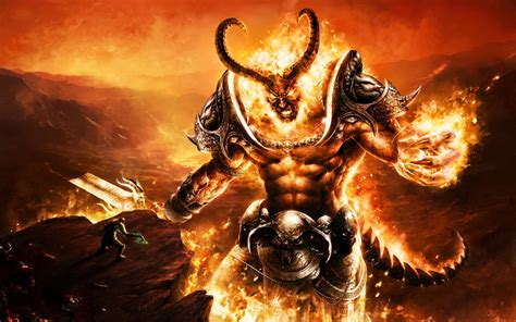 Fire MOnster Full HD Wallpaper and Background Image ...