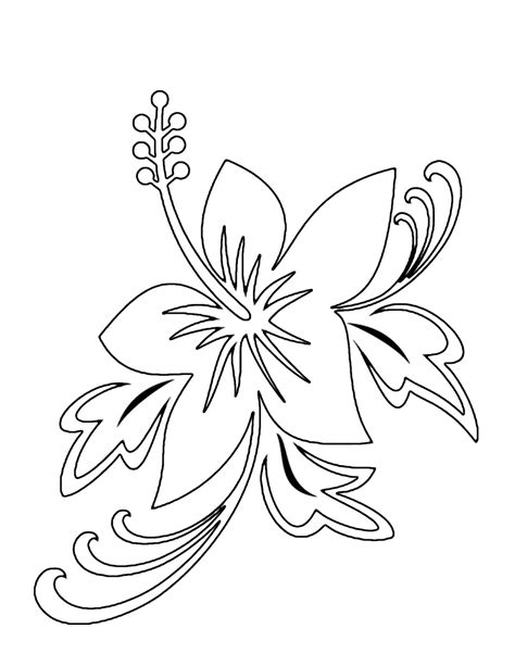 Free Printable Flower Coloring Pages For Kids   Best ...