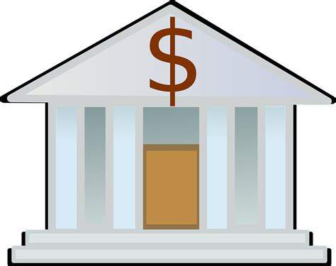 Free vector graphic: Bank, Money, Finance   Free Image on ...
