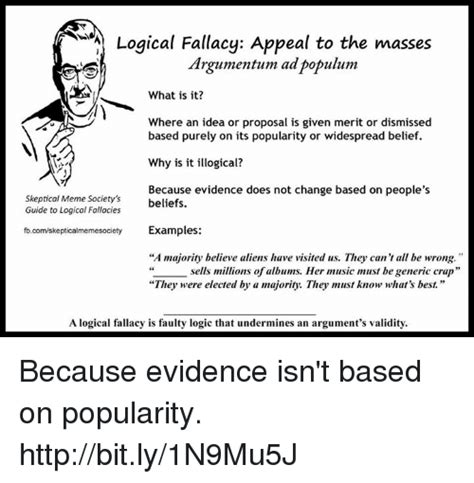 Funny Logical Fallacy Memes of 2017 on me.me   Undermined