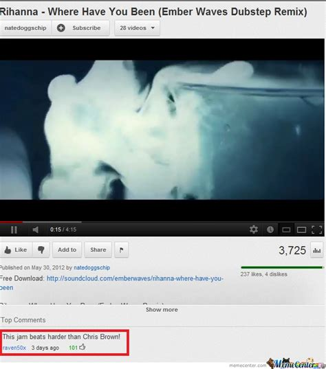 Funny Youtube Comment by TheMatrixman   Meme Center
