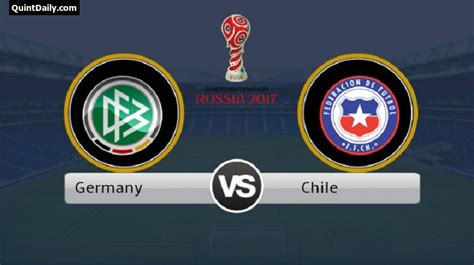 Germany vs Chile FIFA Confederations Cup 2017 Final Match ...