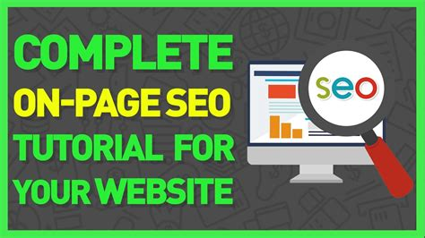 Google Seo Tutorial For Beginners How To Seo A Website ...