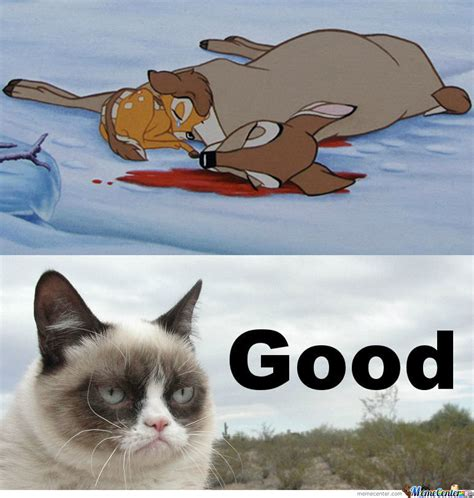 Grumpy Cat Hates Bambi s Mom by Natuschka   Meme Center
