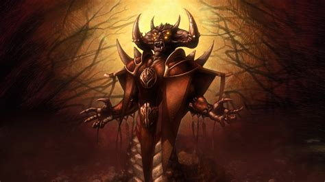 Halloween Monsters Wallpapers: Demon King Wallpapers
