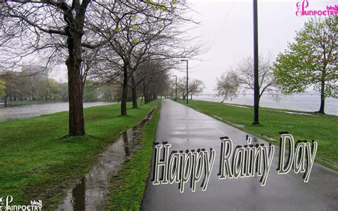 Happy Rainy Day Wishes Wallpaper With Wishes Messages ...
