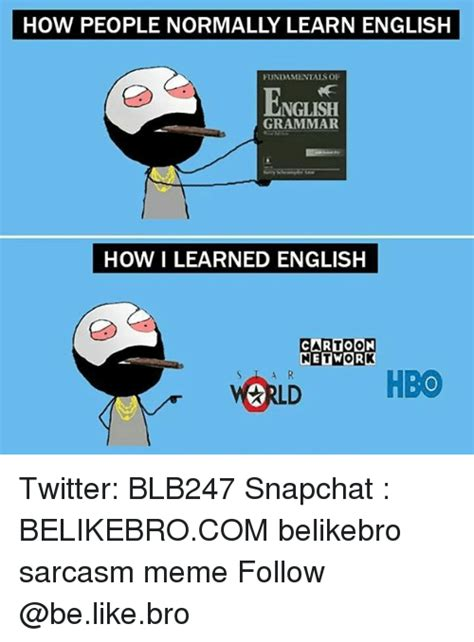 HOW PEOPLE NORMALLY LEARN ENGLISH FUNDAMENTALS OF ENGLISH ...