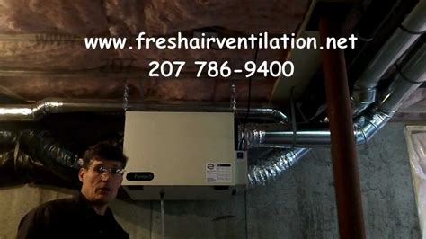 How to Clean a Fantech 1504 HRV air exchanger   YouTube