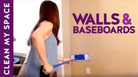 How to Clean Walls & Baseboards!  Clean My Space    YouTube