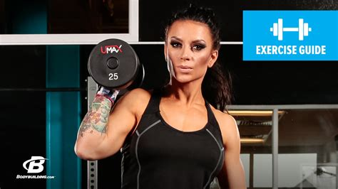 How To Do A Dumbbell Clean and Jerk   Exercise Guide   YouTube