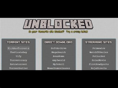 How to unblock torrent sites   YouTube