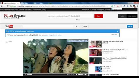 How to Unblock Youtube | SSL Anonymous Web Proxy   YouTube